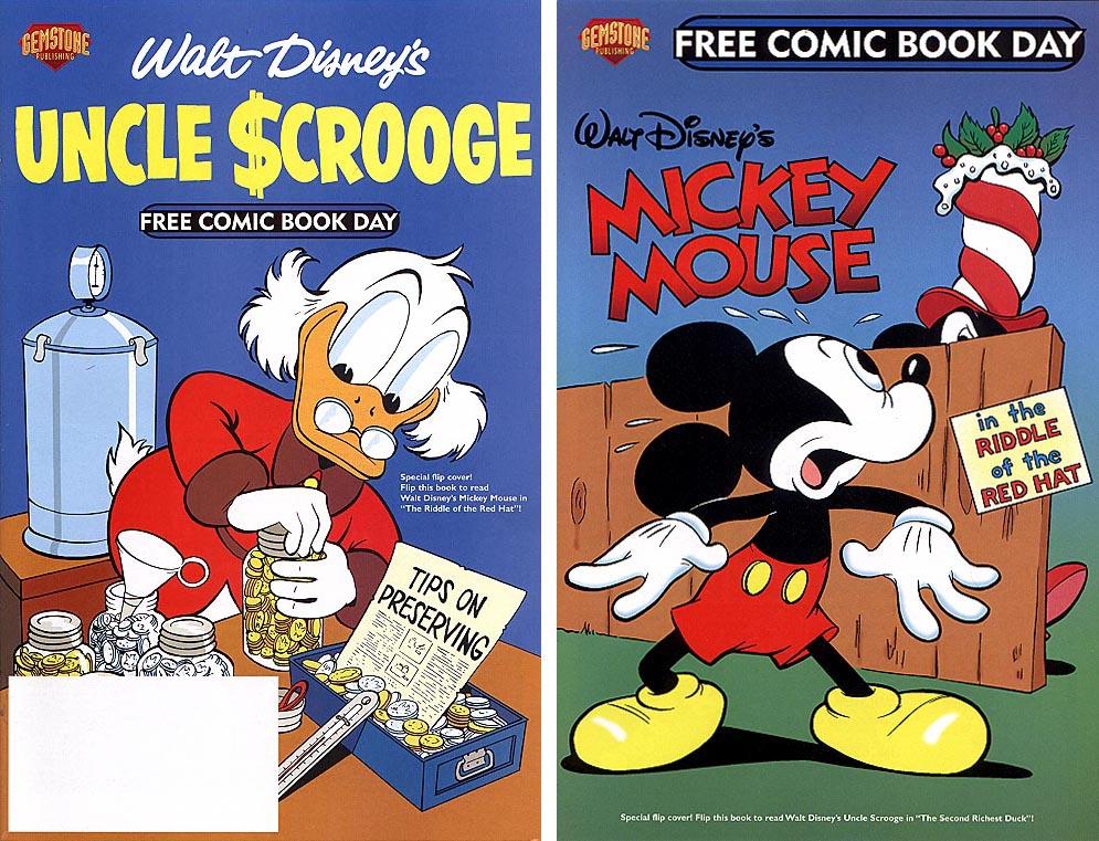 FCBD 2004 Walt Disneys Mickey Mouse And Uncle Scrooge Flip Book