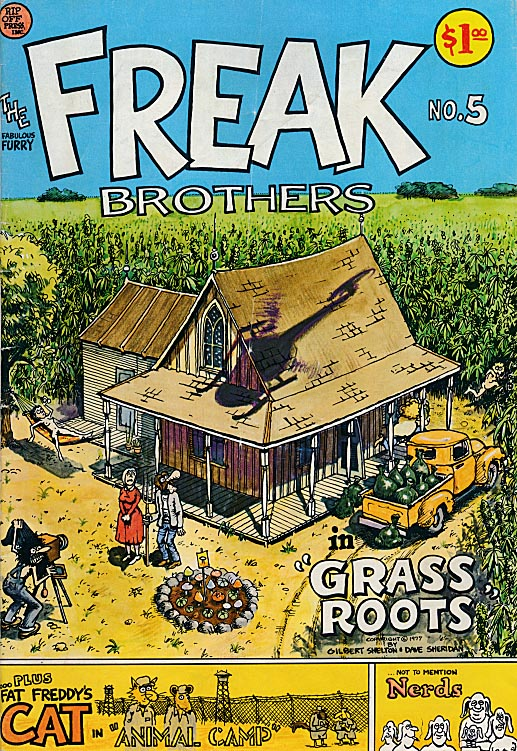 Fabulous Furry Freak Brothers 5 ( 2 nd Print) -VG