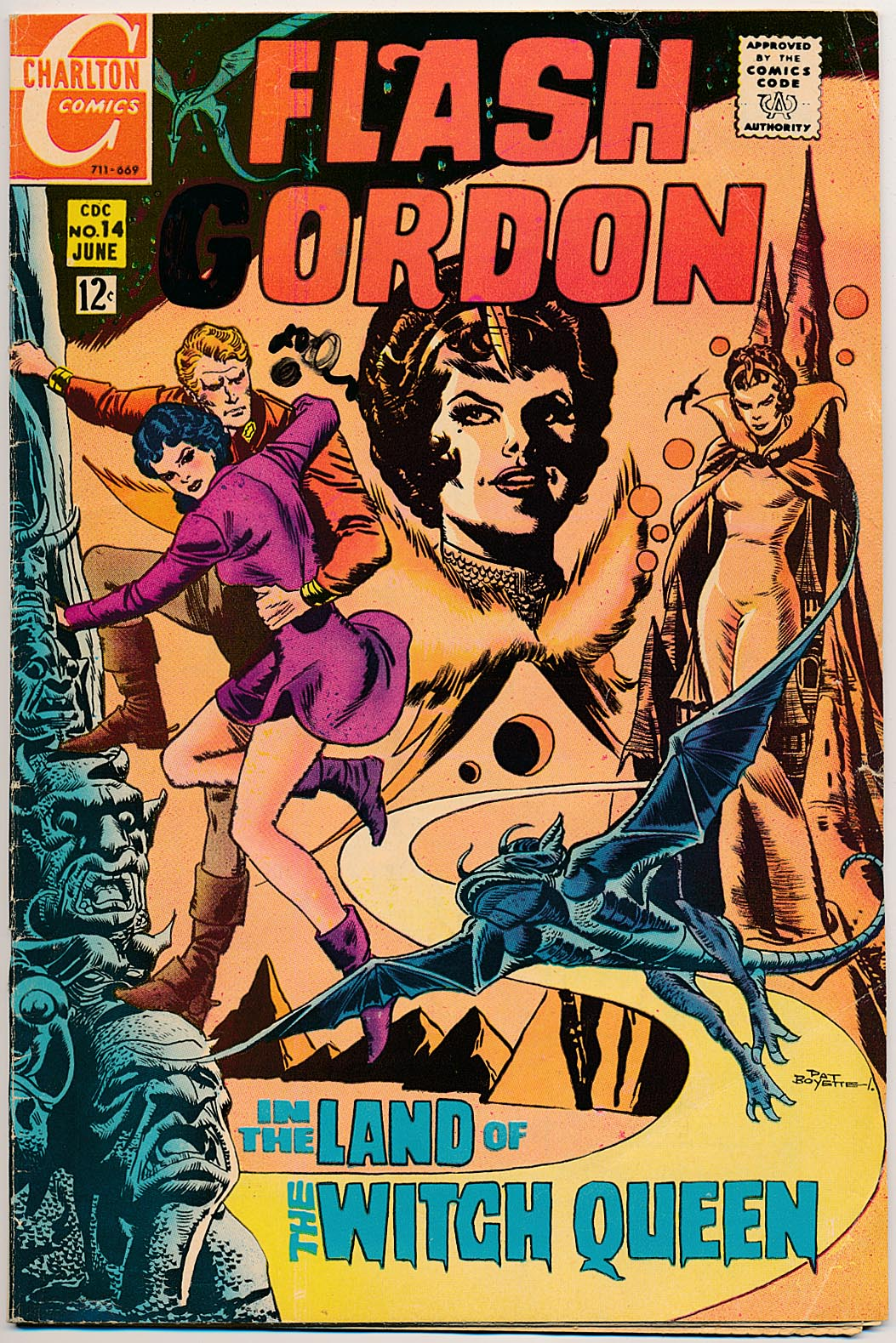 Flash Gordon (Charlton Comics) 14 -G
