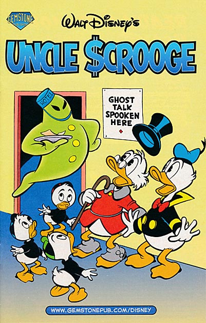 Halloween Ashcan 2007 Walt Disneys Uncle Scrooge