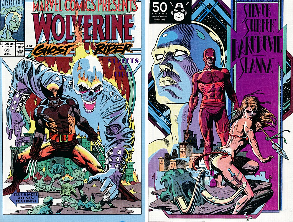 Marvel Comics Presents 69 (Front & Back Covers) -VFNM