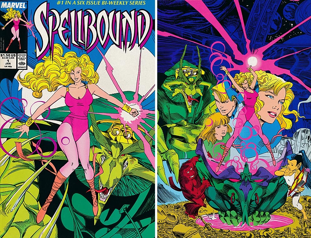 Spellbound 1 (of 6 ) (Front & Back Covers)