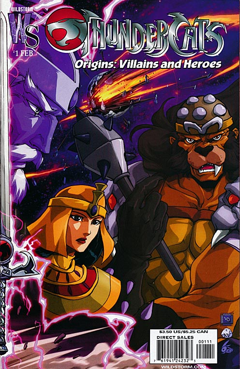 Thundercats Origins Villains And Heroes 1