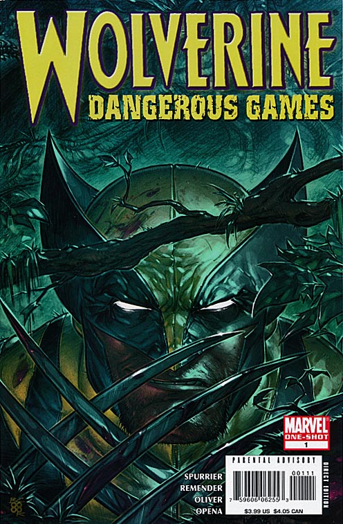 Wolverine Dangerous Games 1 (of 1 ) -VFNM