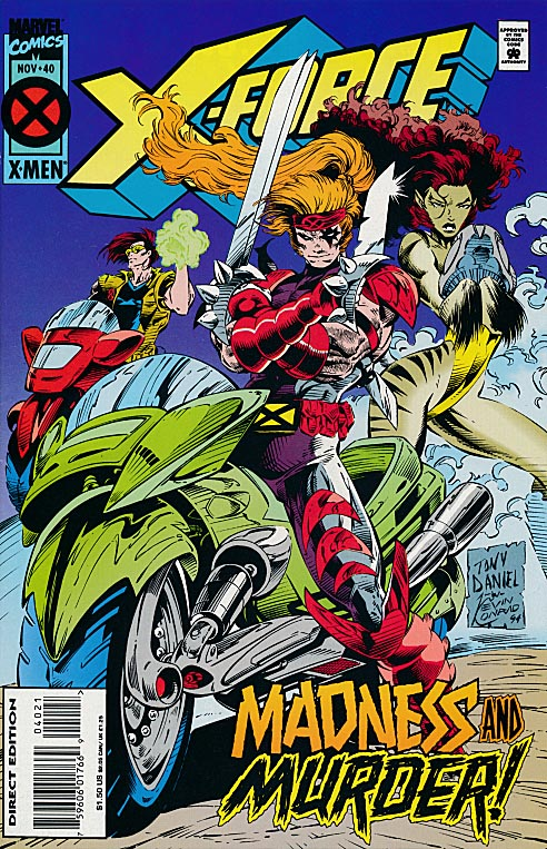 X-Force 40 (Regular Edition) -VFNM