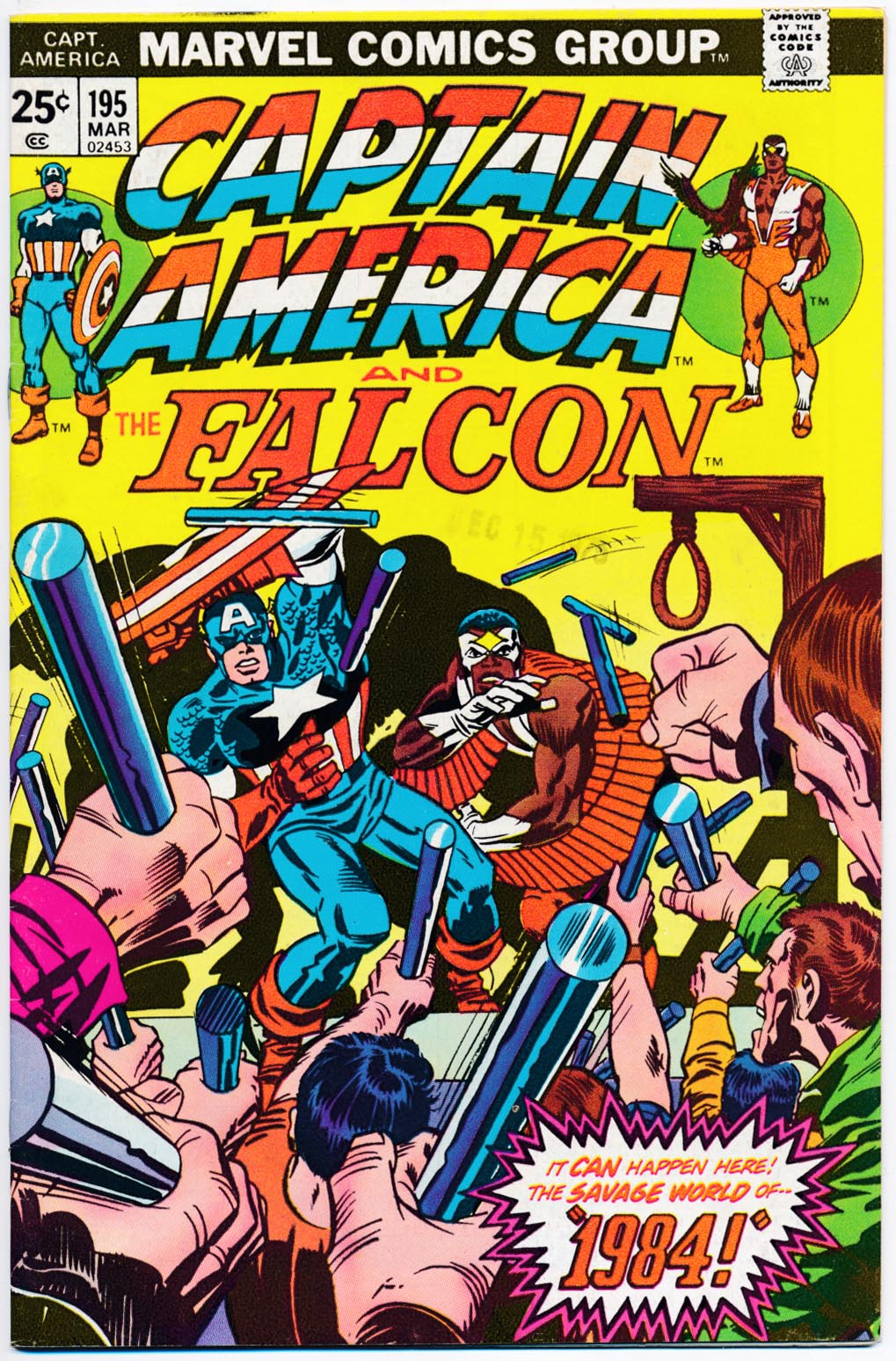 Captain America 195 -VF