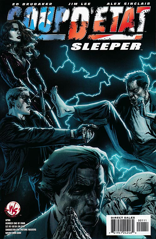 Coup DEtat Sleeper 1 (Lee Bermejo Cover)