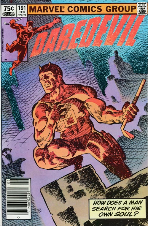 Daredevil 191 (Canadian Newstand Price Variant)