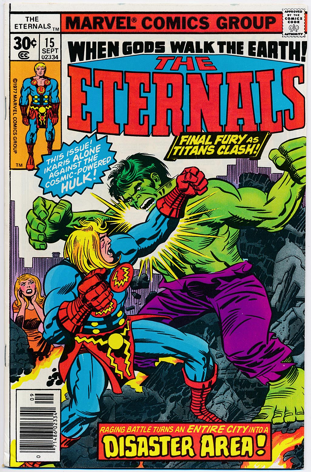Eternals vol 1 - 15 -VF