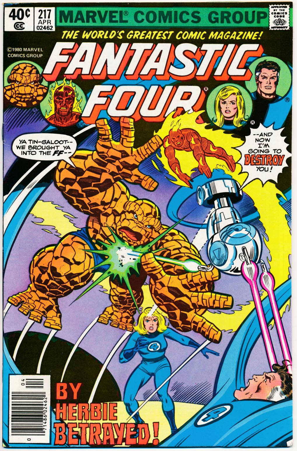 Fantastic Four 217 -VF