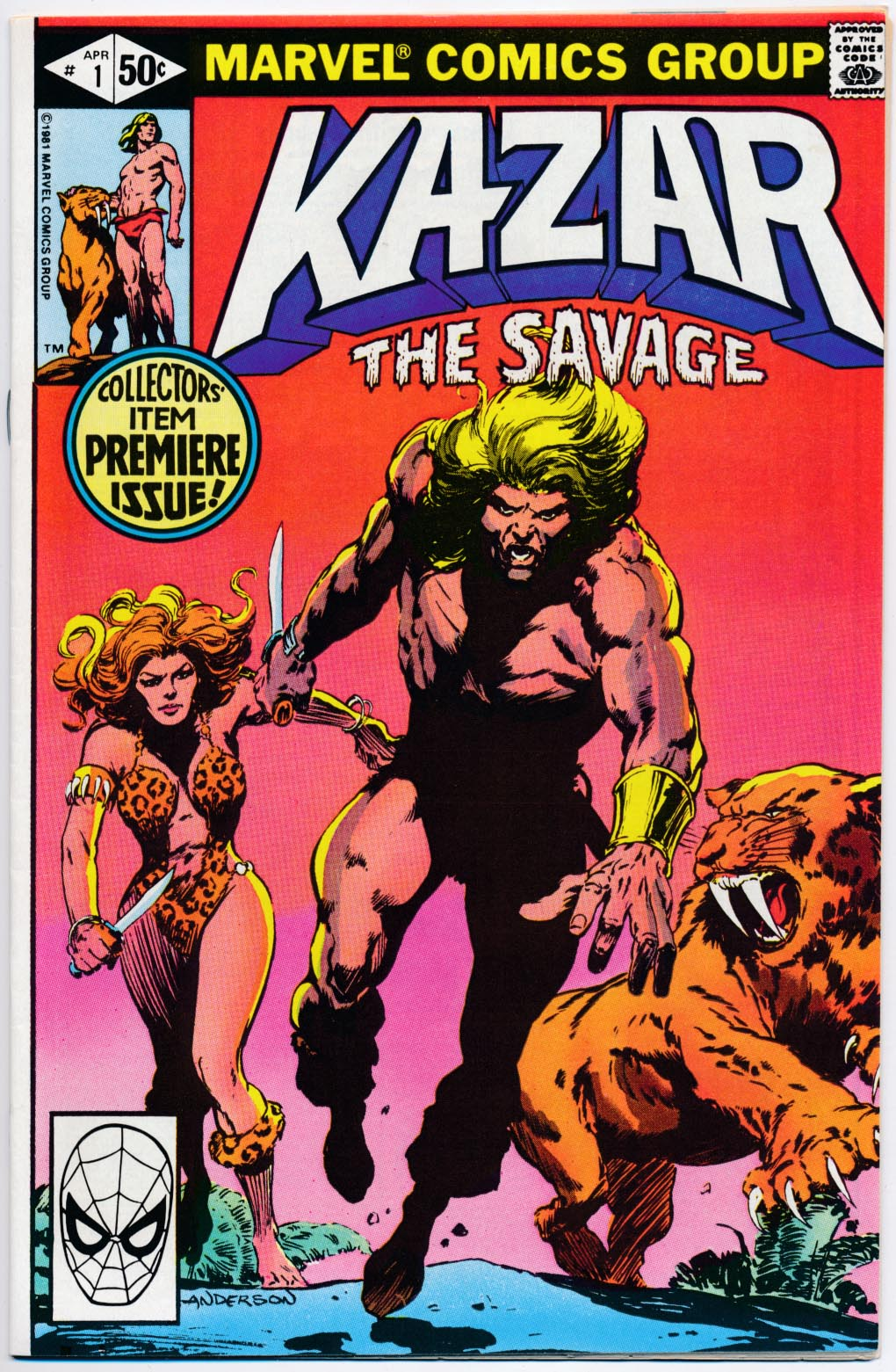 Ka-Zar The Savage 1 -VFNM