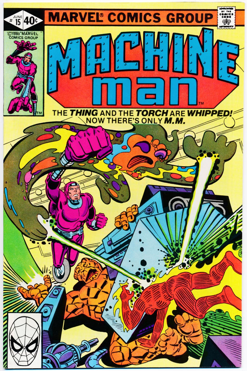 Machine Man 15