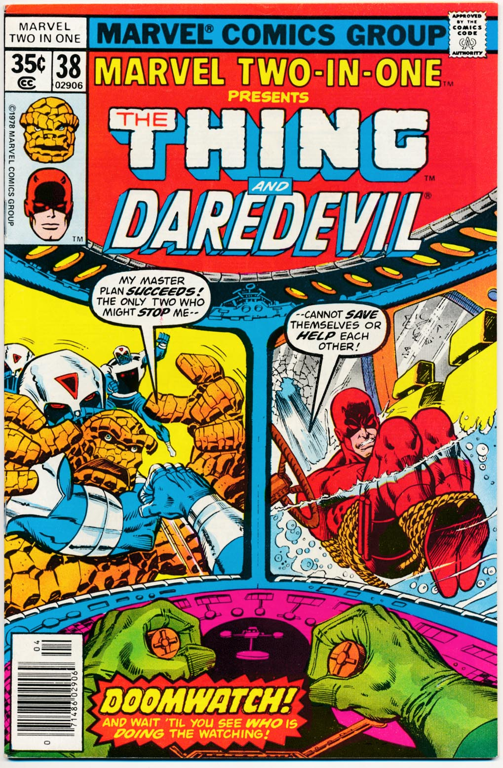 Marvel Two-In-One 38 -VF