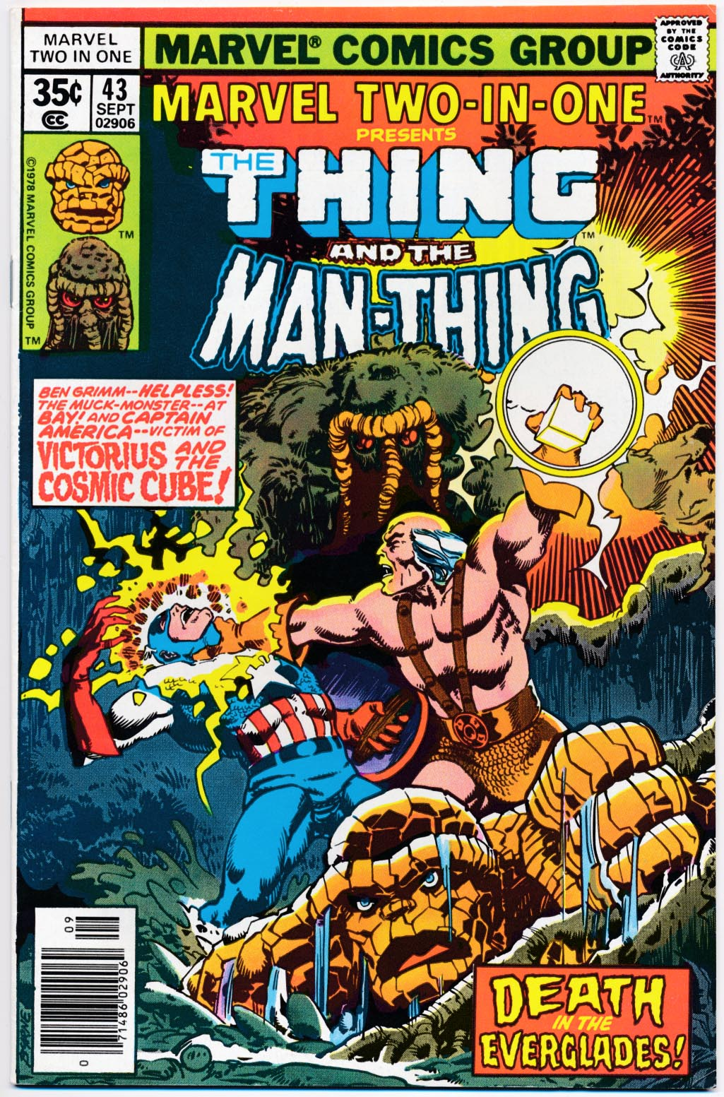 Marvel Two-In-One 43 -VF