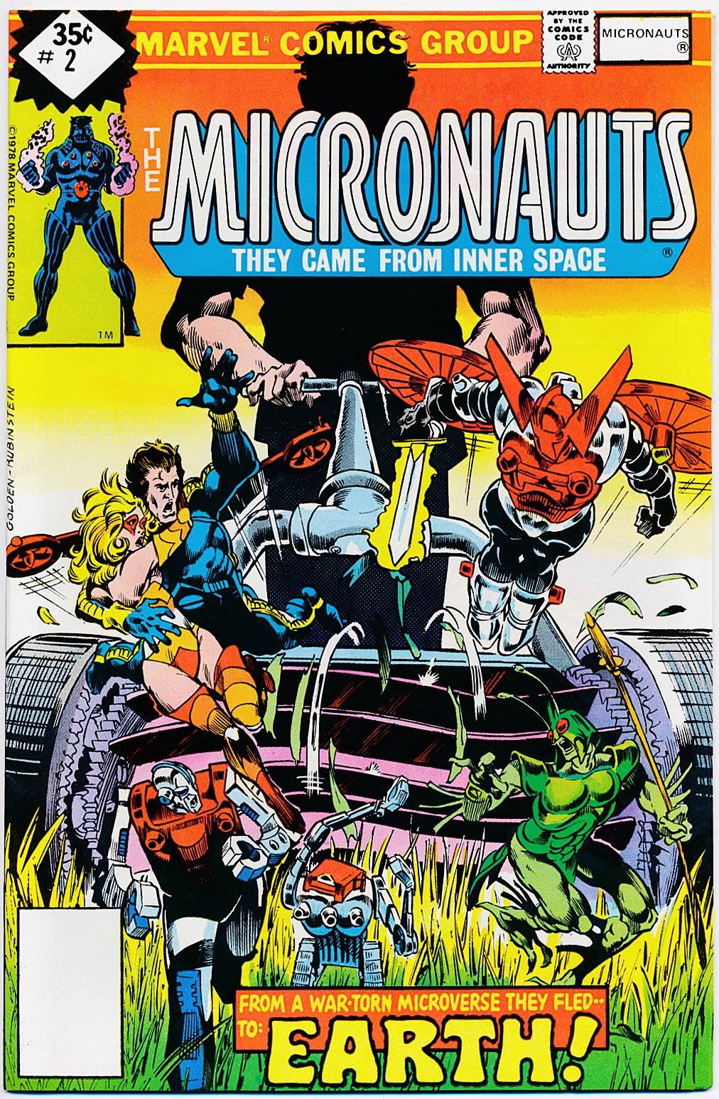 Micronauts (Marvel Vol 1 ) 2 (Whitman Variant) ---VFNM