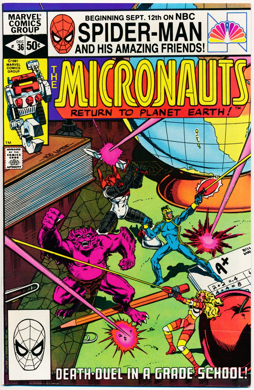 Micronauts (Marvel Vol 1 ) 36 -VF