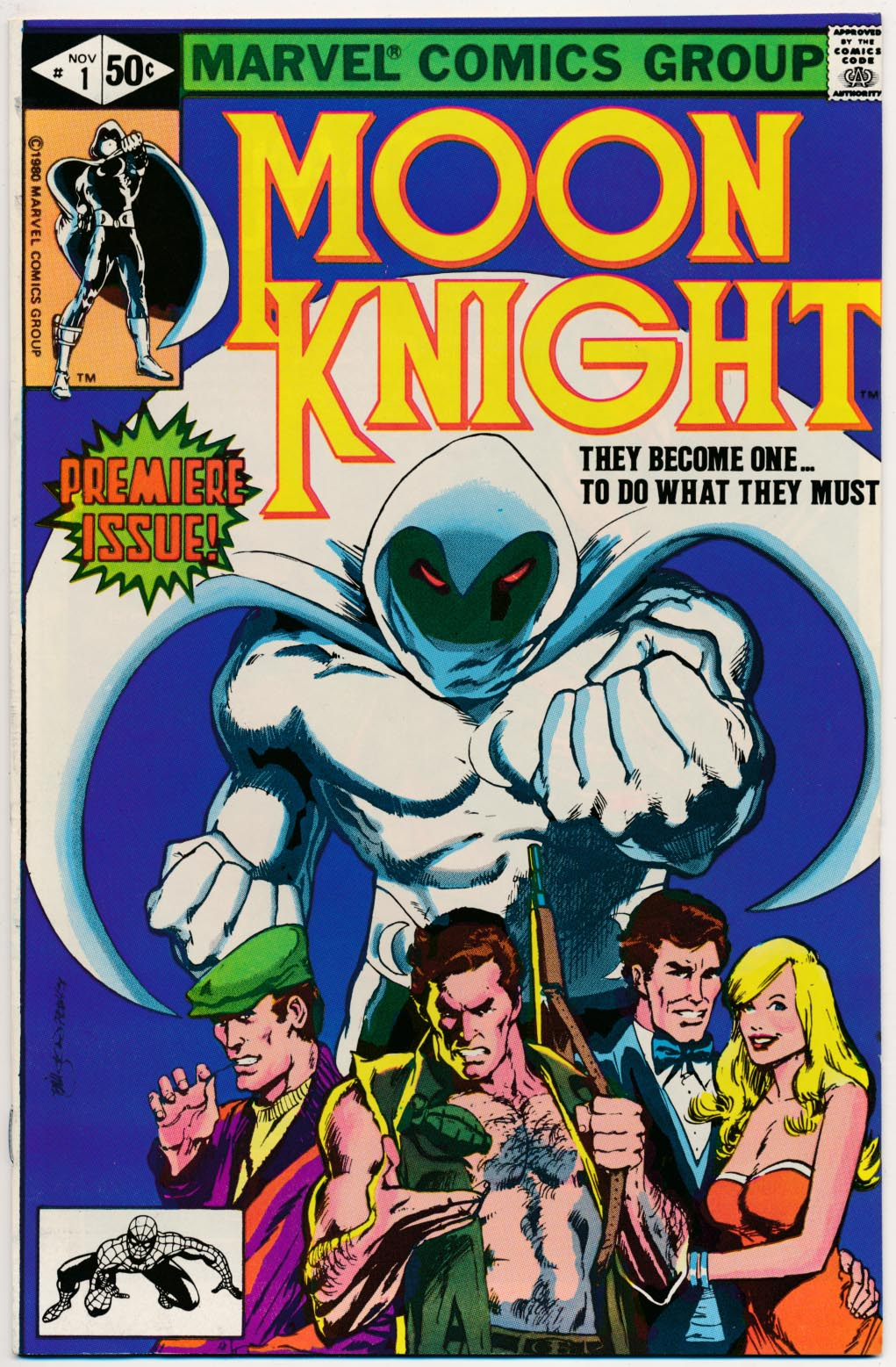Moon Knight vol 1 - 1 (Direct Ed) -VFNM
