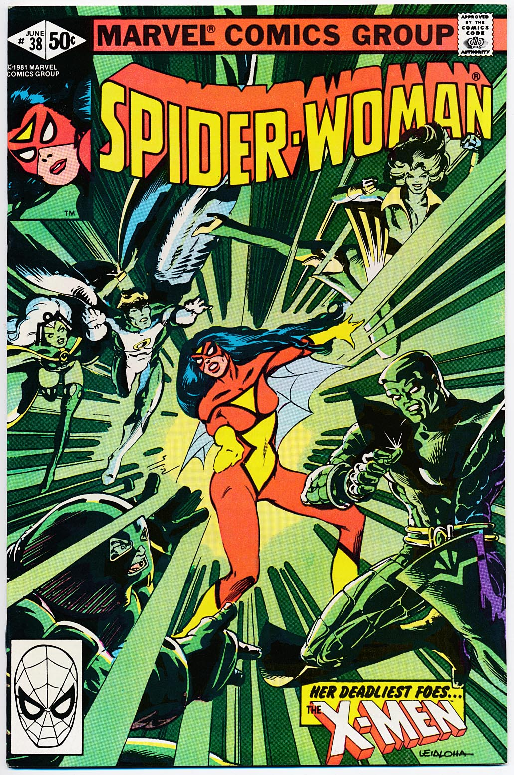 Spider-Woman vol 1 - 38 -VFNM