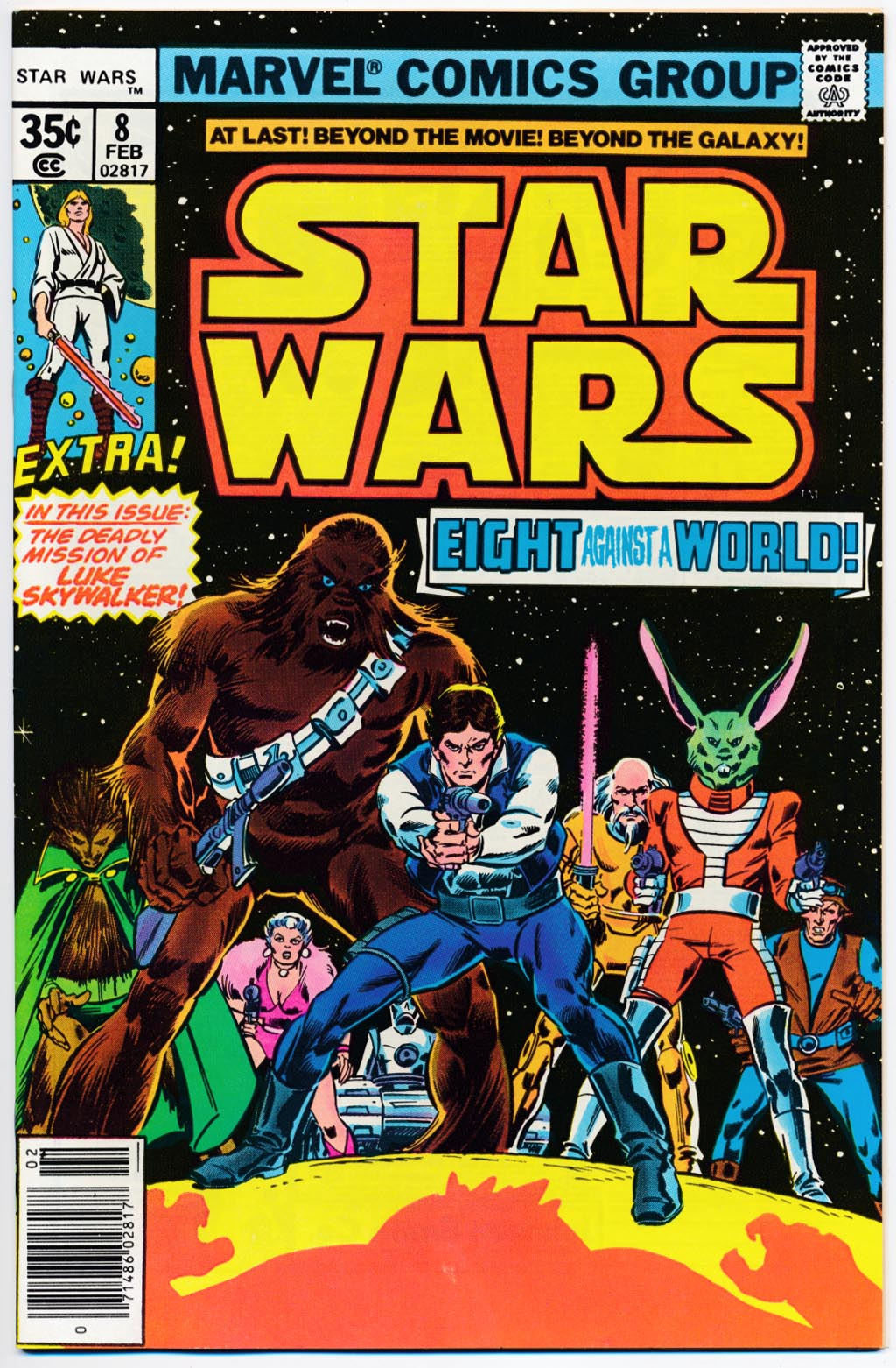 Star Wars (Marvel) 8 -VFNM
