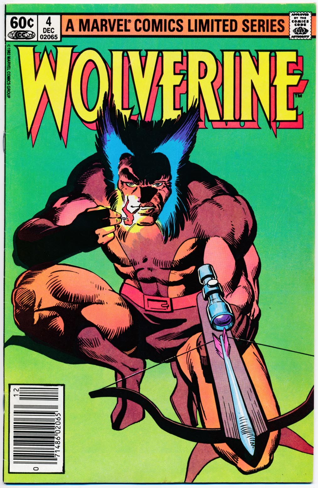 Wolverine vol 1 - 4 (of 4 ) (Newstand) -VF
