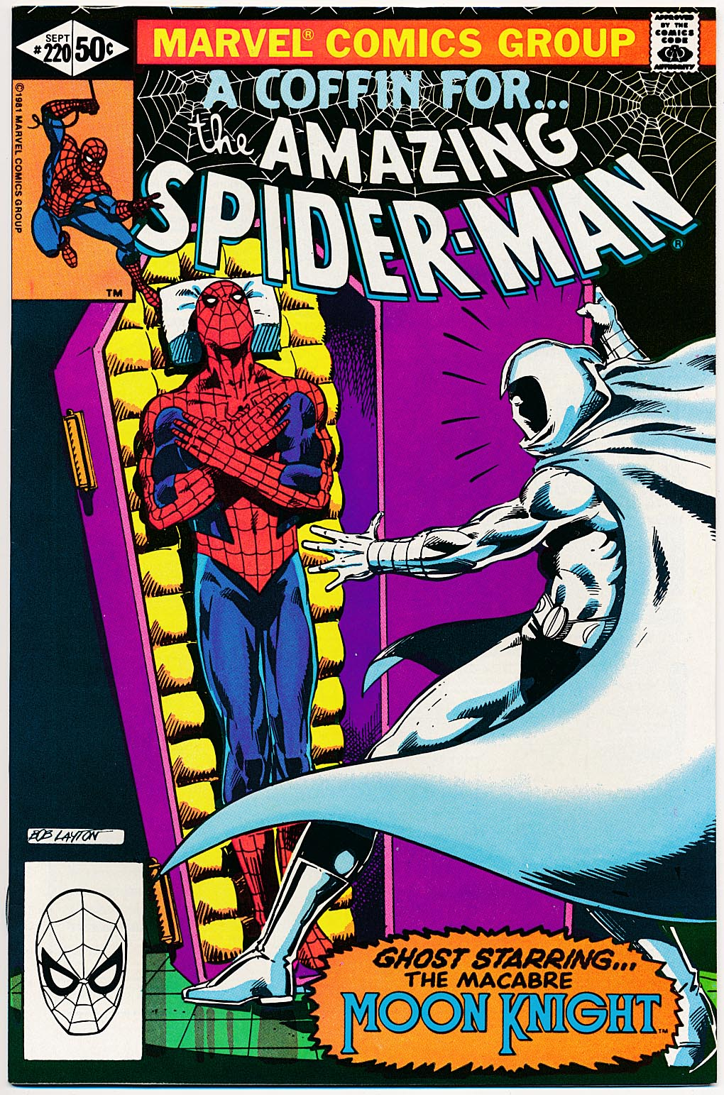 Amazing Spider-Man 220 -NM