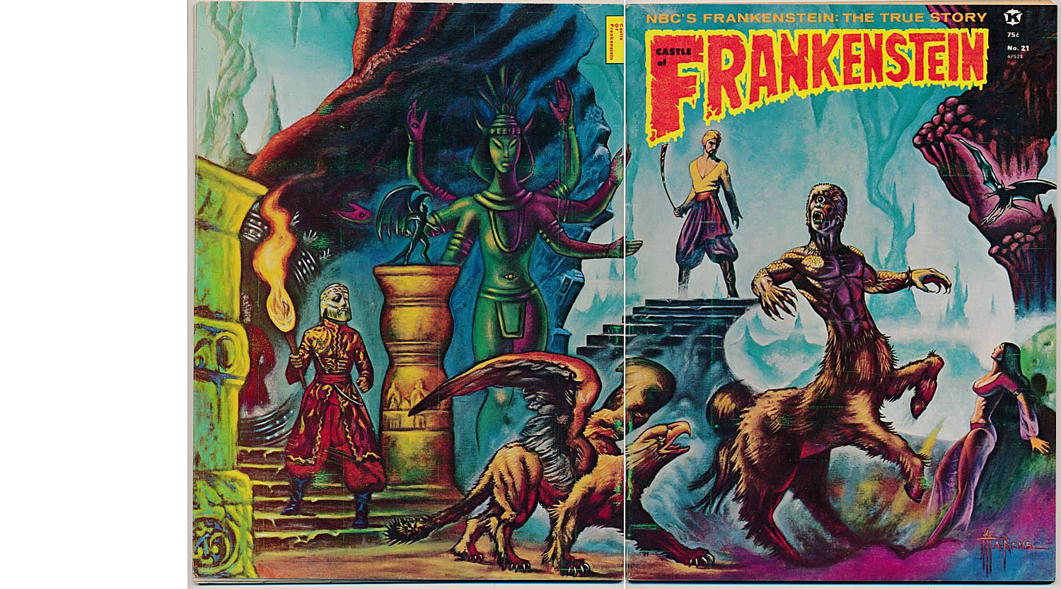 Castle Of Frankenstein 21 (Wraparound Cover) -VF