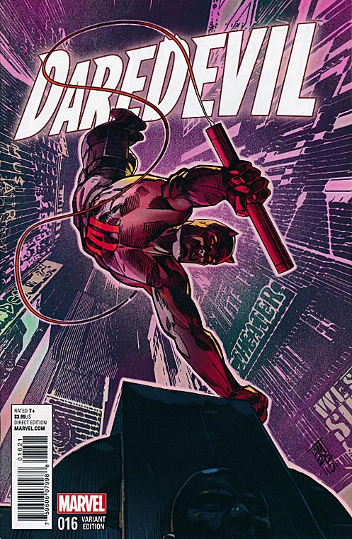 Daredevil vol 4 - 16 (Alex Maleev New York City Variant)