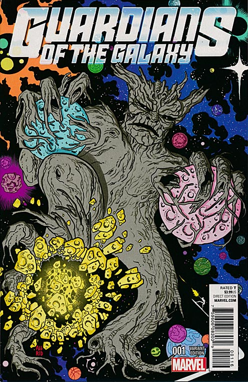 Guardians Of The Galaxy vol 4 - 1 ( 1 in 10 Mike Allred Kirby Monster Variant)
