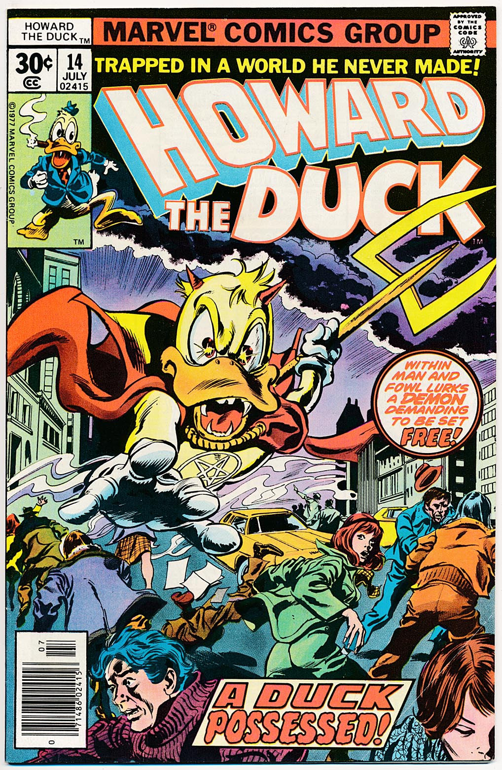 Howard The Duck 14 -F