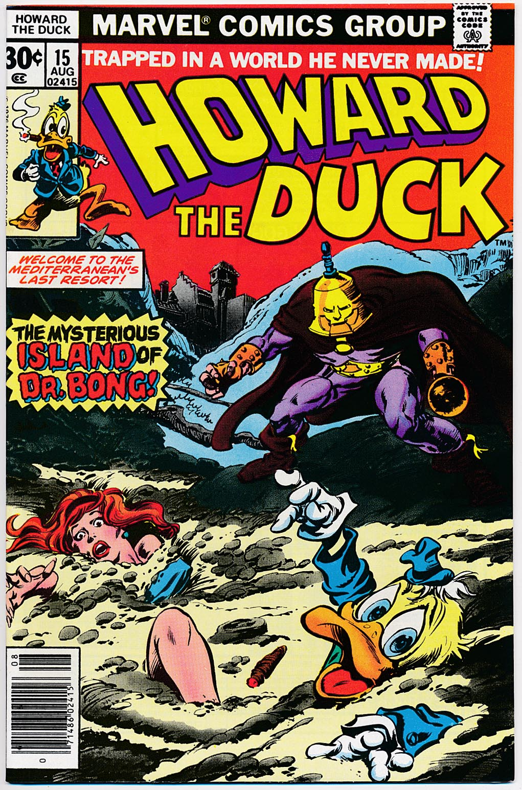Howard The Duck 15 -NM