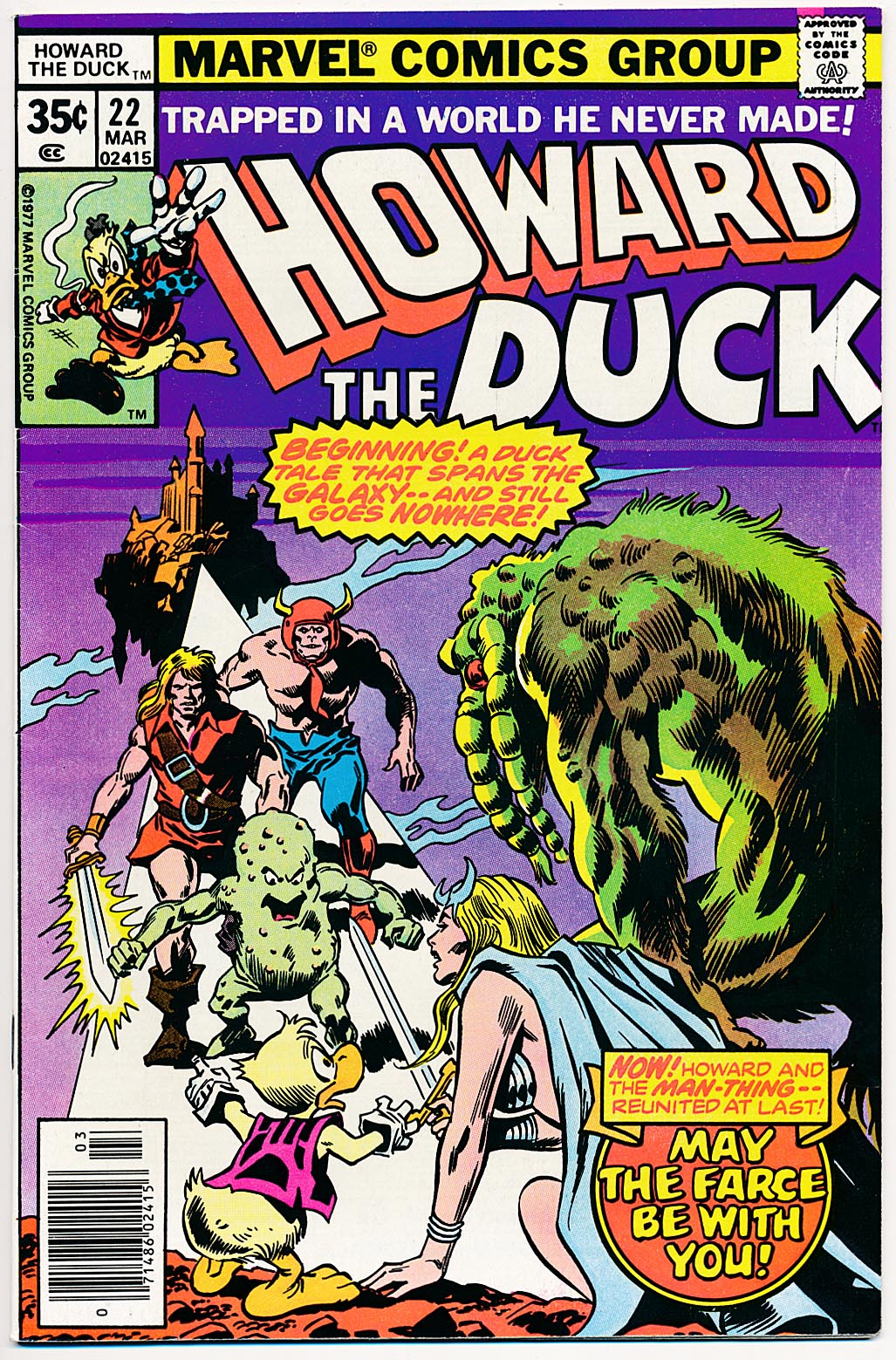 Howard The Duck 22 -VF