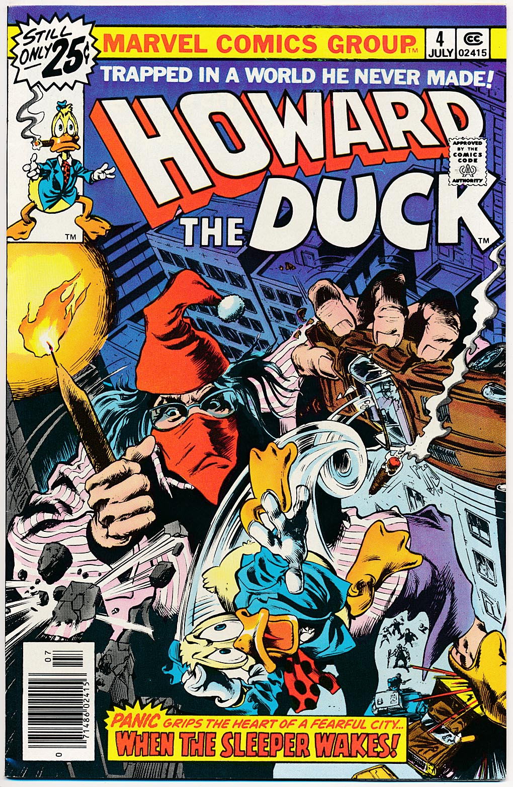 Howard The Duck 4 --VF