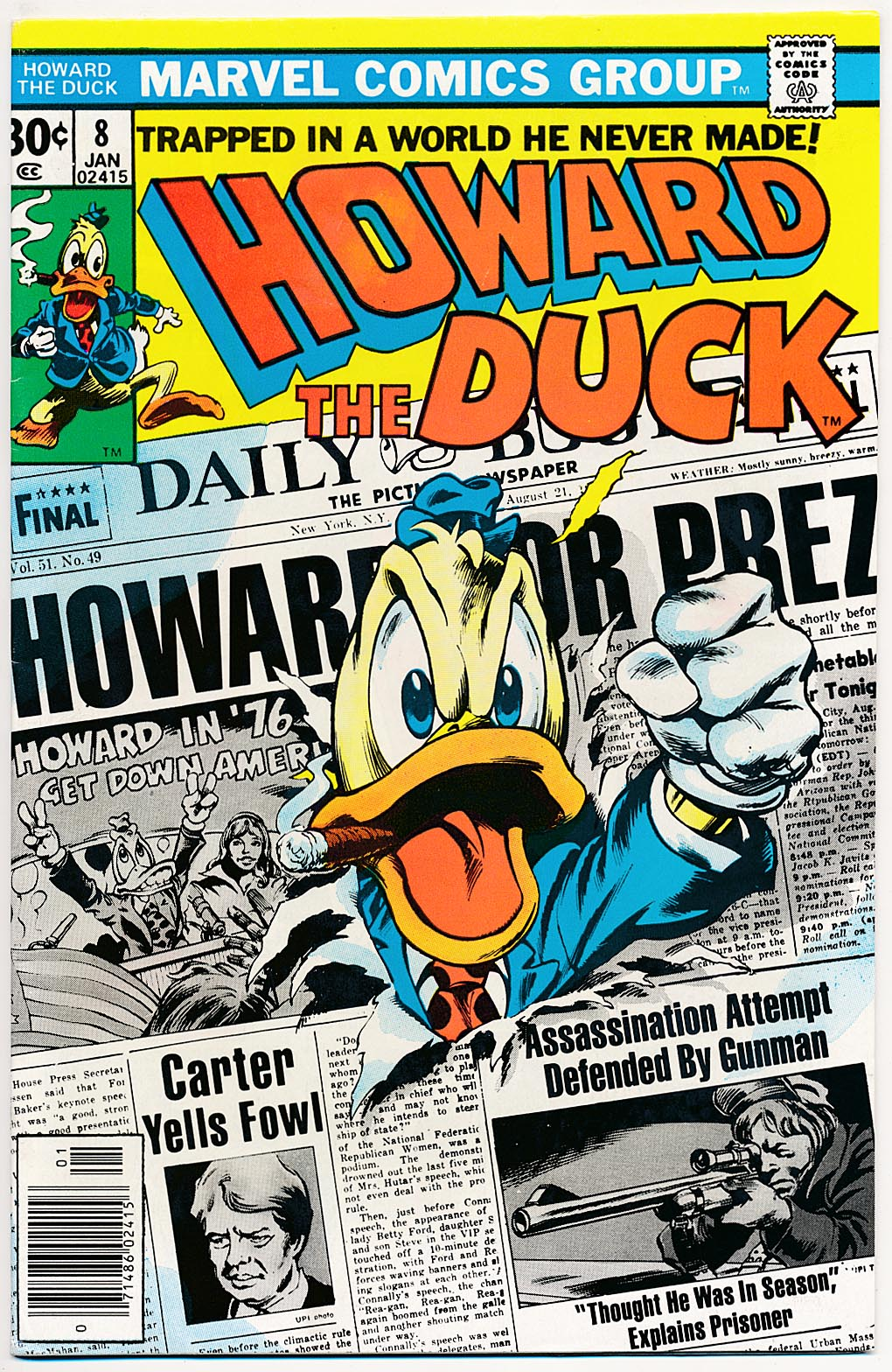 Howard The Duck 8 --VF