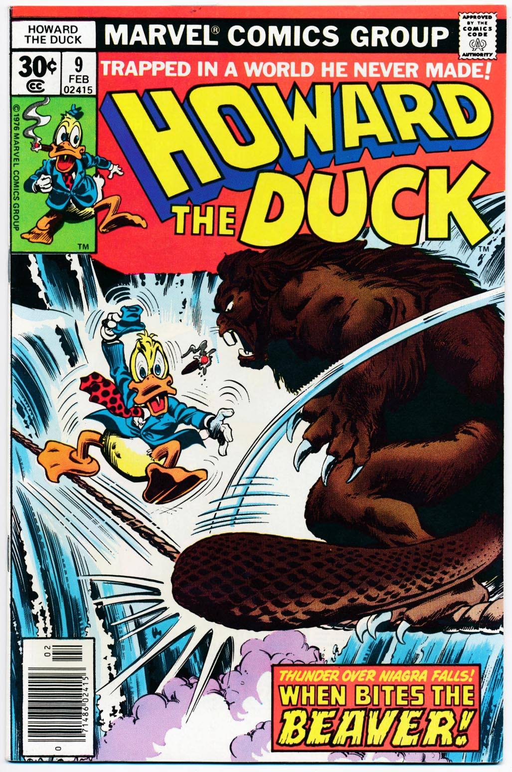 Howard The Duck 9 ---VFNM