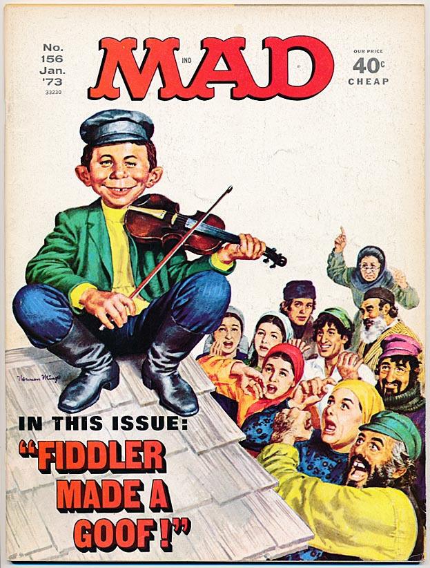 Mad Magazine 156 --VF