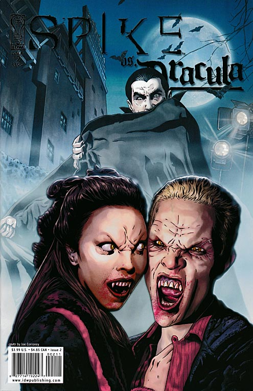 Spike Vs Dracula 2 Joe Corroney Cover