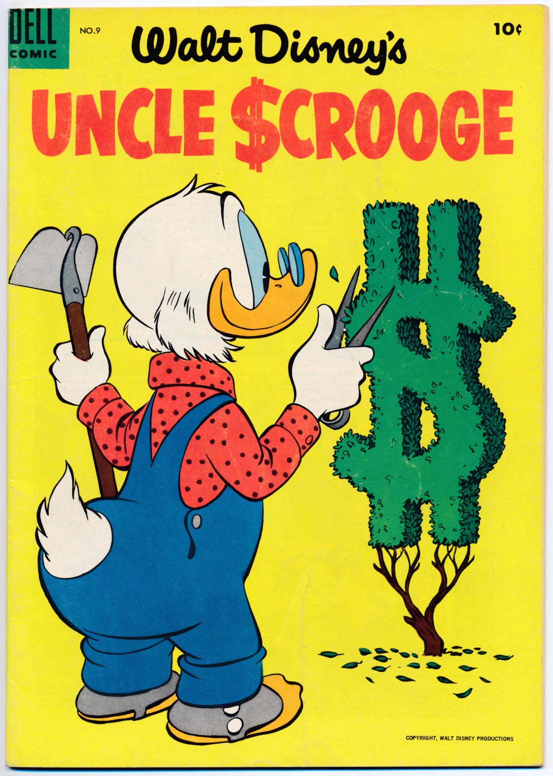 Uncle Scrooge (Dell) 9 -VF