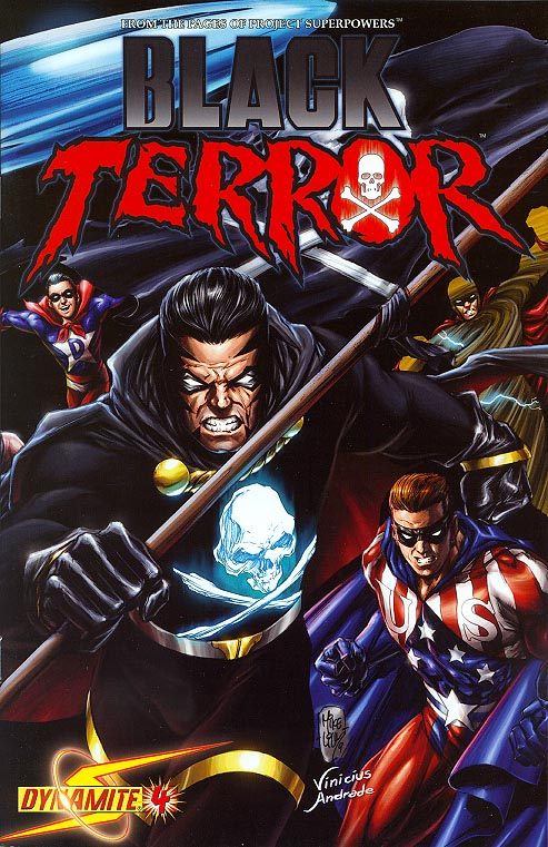 Black Terror 4 ( 1 in 12 Incentive Mike Lilly Variant)