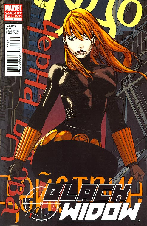 Black Widow vol 4 - 1 ( 1 in 25 Incentive Foreman Variant)
