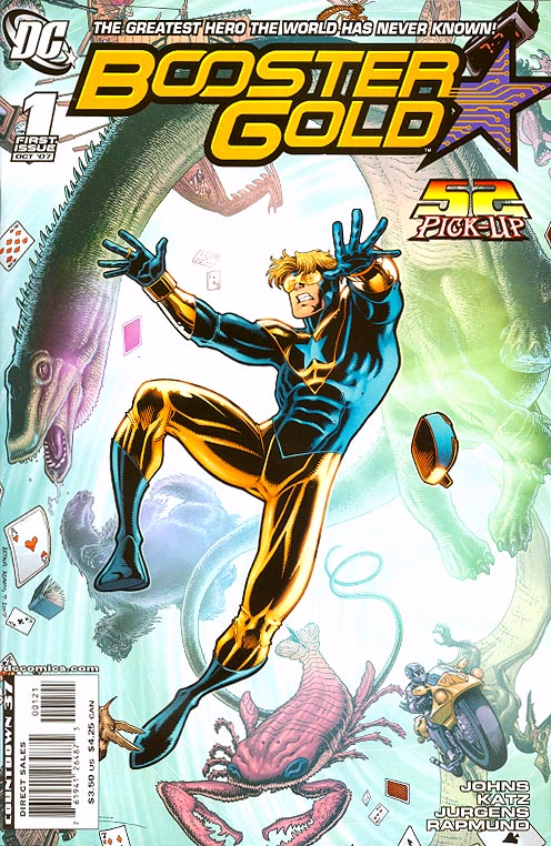 Booster Gold vol 2 - 1 ( 1 in 10 Incentive Art Adams Variant)