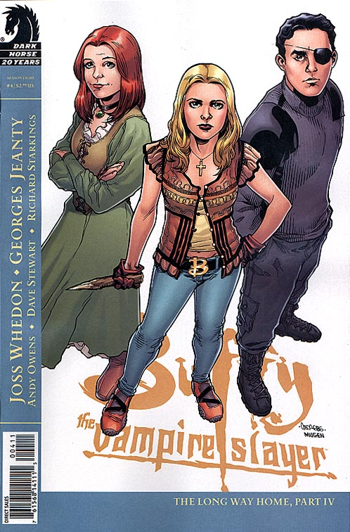 Buffy The Vampire Slayer Season Eight 4 ( 1 in 4 Incentive Georges Jeanty Variant Cvr)