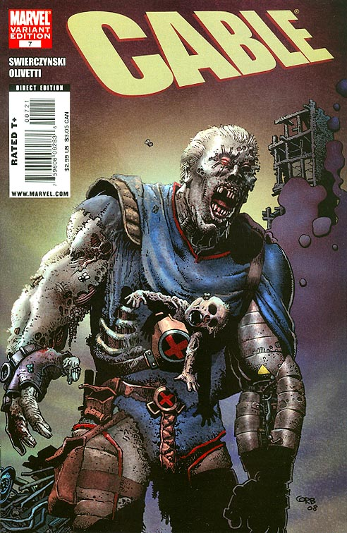 Cable vol 2 - 7 ( 1 in 10 Incentive Zombie Variant)