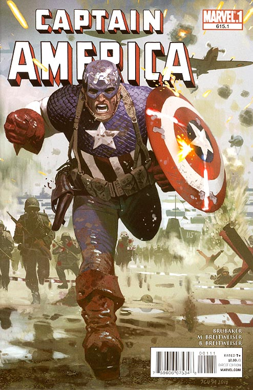 Captain America 615 point 1