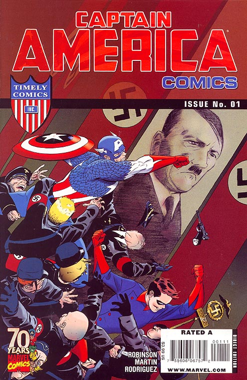 Captain America Comics 70 th Anniversary Special 1
