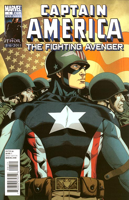 Captain America Fighting Avenger 1 (Barry Kitson Variant)