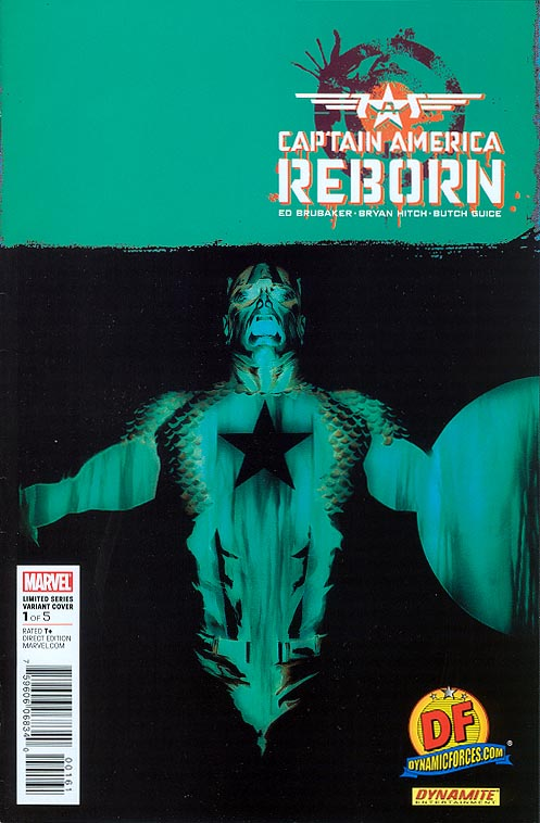 Captain America Reborn 1 (of 5 ) (DF Exclusive Alex Ross Variant 1 of 2999 )