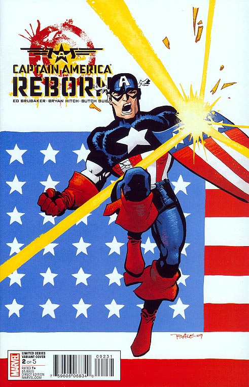 Captain America Reborn 2 (of 5 ) ( 1 in 25 Incentive Tim Sale Variant)