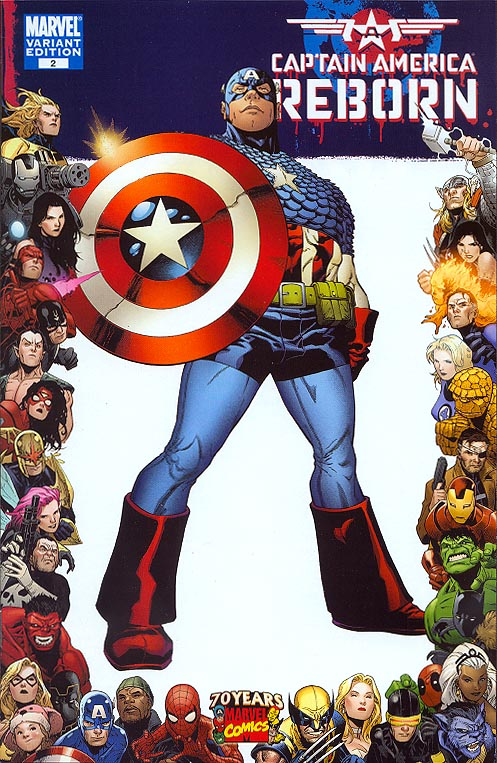 Captain America Reborn 2 (of 5 ) ( 70 th Frame Variant)