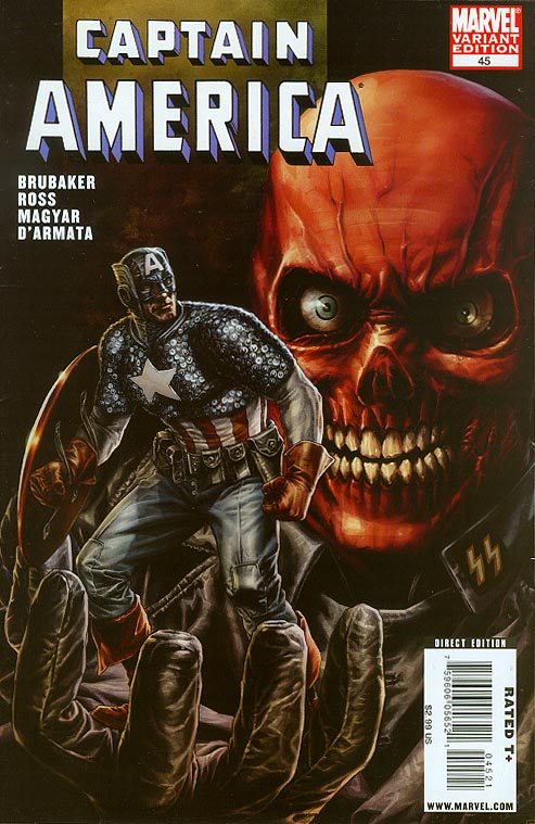 Captain America vol 5 - 45 ( 1 in 10 Order Incentive Villain Red Skull Lee Bermejo Variant)