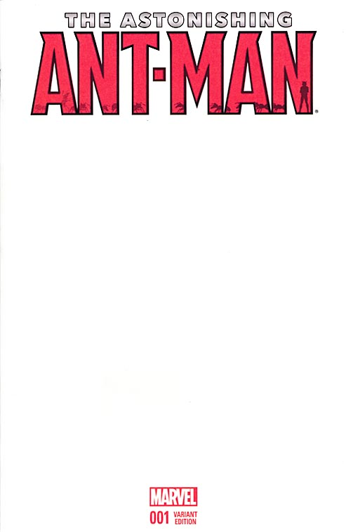 Astonishing Ant-Man 1 (Blank For A Sketch Variant)